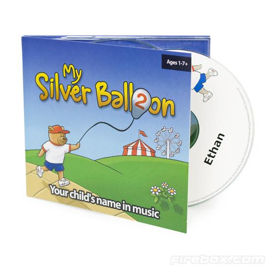 Firebox My Silver Balloon Personalised Children's CDs (Album 1)