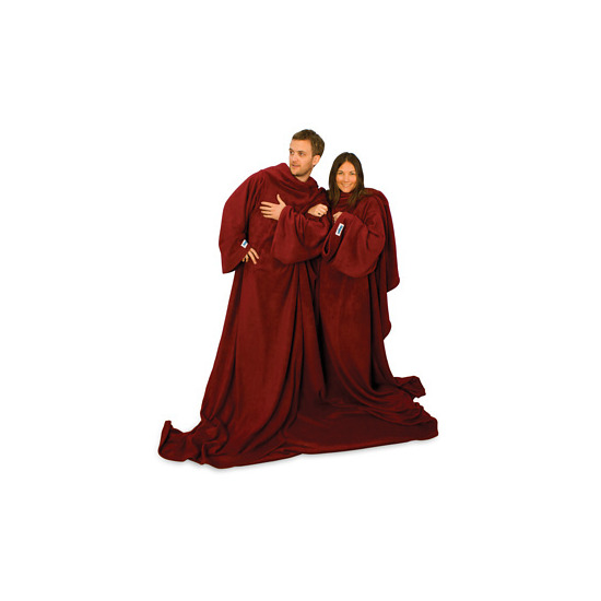 The Double Slanket Chocolate Brown