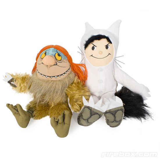 Firebox Where The Wild Things Are Soft Toys (Moishe)