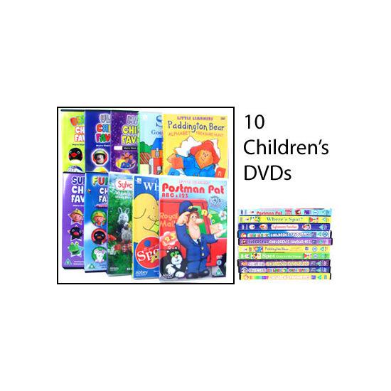 Children's DVD Bumper Collection - 10 Disc Set