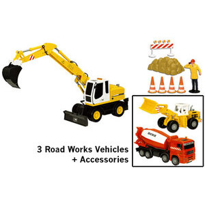 Photo of Road Work Set - Pack 3 Toy
