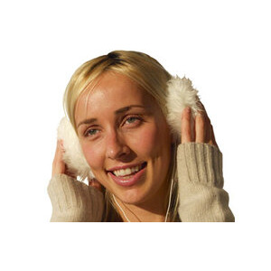 Photo of Earmuff Headphones - White Gadget