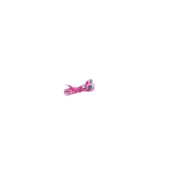 Ipod Pink Stereo Headphones / Earphones