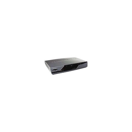 Cisco 877 Security Bundle - Router + 4-port switch - DSL - EN, Fast EN