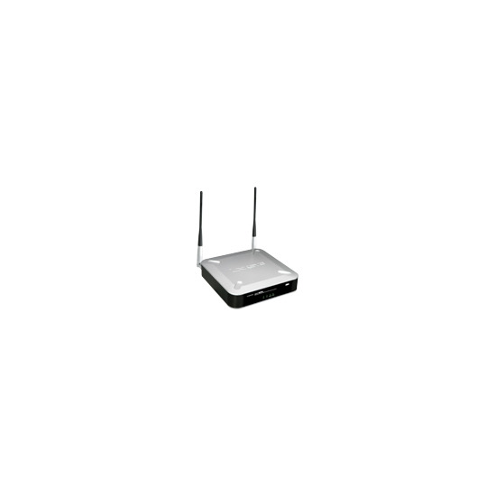 Linksys Wireless-G Access Point with Power Over Ethernet and RangeBooster WAP200 - Radio access point - 802.11b, 802.11g