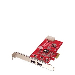 SIIG FireWire 2-Port PCIe - FireWire adapter - PCI Express x1 low profile - Firewire - 2 ports Reviews