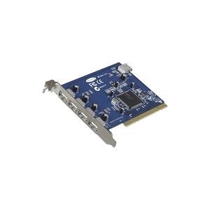Photo of Belkin Hi-Speed USB 2.0 5-Port PCI Card - USB Adapter - PCI - USB, Hi-Speed USB - 5 Ports USB Hub