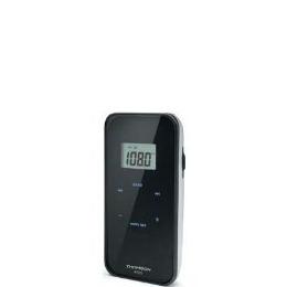Thomson RT222 - Portable Digital Scan LCD PLL Pocket Radio & Earphones