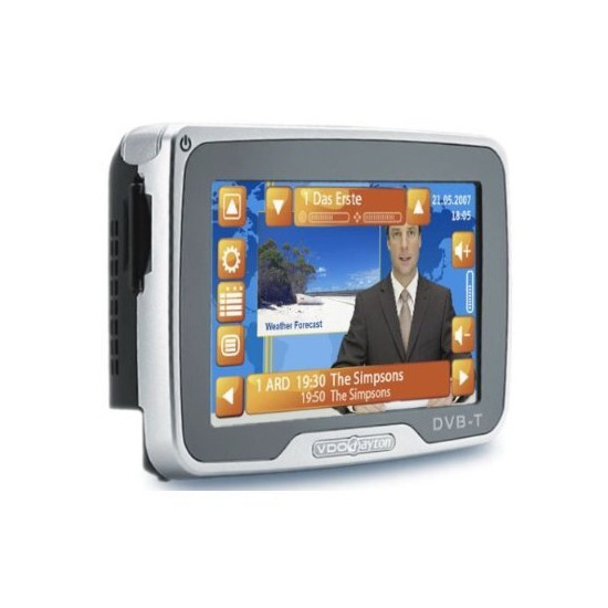 "VDO Dayton PN4000 4.3"" GPS with DVB-T and Full European Maps"