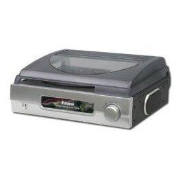 Retro style record player