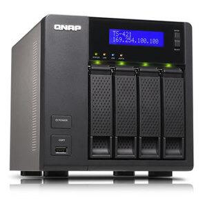 Photo of QNAP Ts-421 4 Bay NAS Server