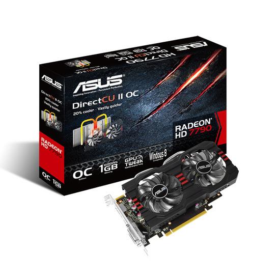 Asus AMD Radeon HD 7790 DirectCU II OC 1GB