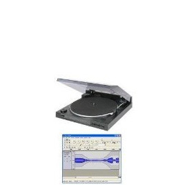 Skytec iPhono USB Turntable (Convert & record Vinyl records to MP3/CD via your Computer PC) 33/45 speed Fully automatic Belt drive Record player with Software (Note: Requires separate amplifier if used as a record player) 170.526