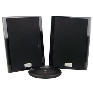 Photo of Deluxe Wireless Speakers (High Gloss Piano Black) Speaker