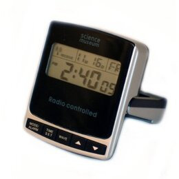 Radio Controlled Digital Travel Alarm Clock