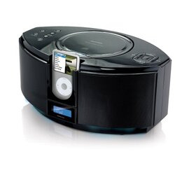 Memorex MI1111-BLKUK CD Micro System with iPod Dock