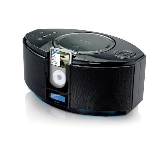 Memorex MI1111-BLKUK CD Micro System with iPod Dock