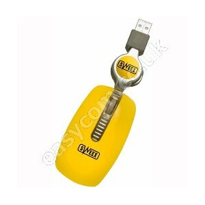 Photo of Sweex Notebook Optical Mouse Mellow Yellow Computer Mouse