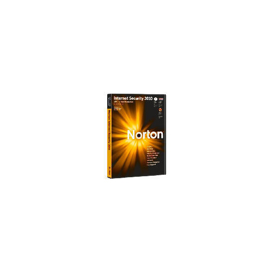 Norton Internet security 2010 - 1 user