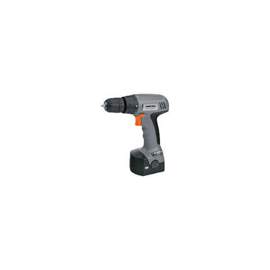 Powerforce 12V Drill Driver and 120 Pc Accessory Set