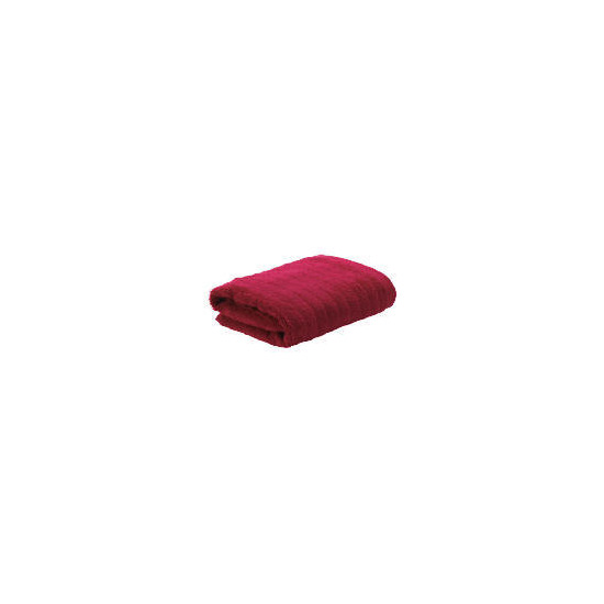 Tesco Ribbed Hand Towel Red