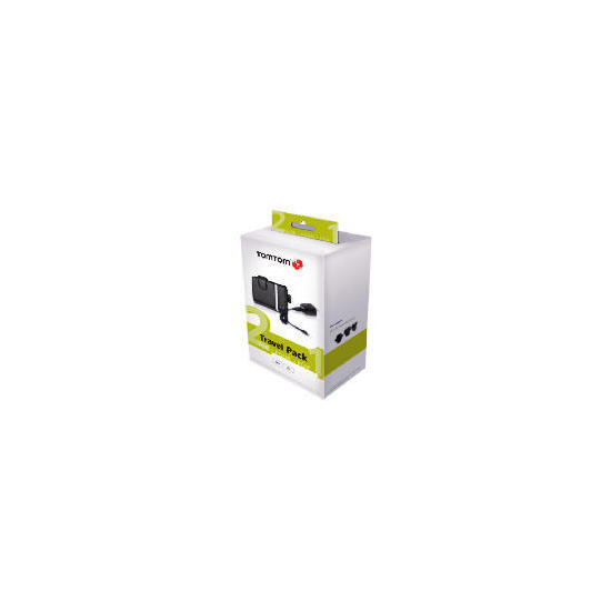 TomTom XL/GO 2 for 1 Travel Pack Supplied