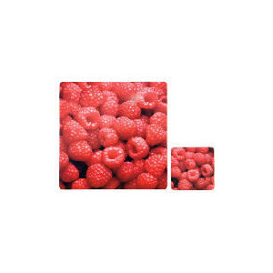 Photo of Tesco Rasberry Square Placemats & Coasters 4 Pack Dinnerware