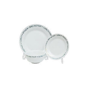Photo of Tesco Text 12PCE Dinnerset Kitchen Accessory