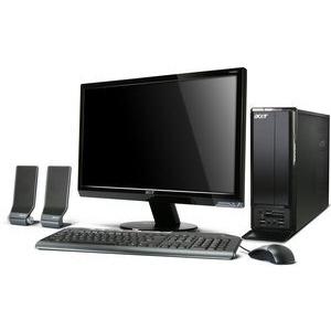 Photo of Acer Aspire X1301 Dual Core Windows 7 Desktop PC Desktop Computer