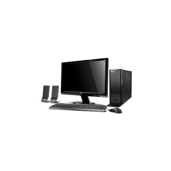 Acer Aspire X1301 Dual Core Windows 7 Desktop PC