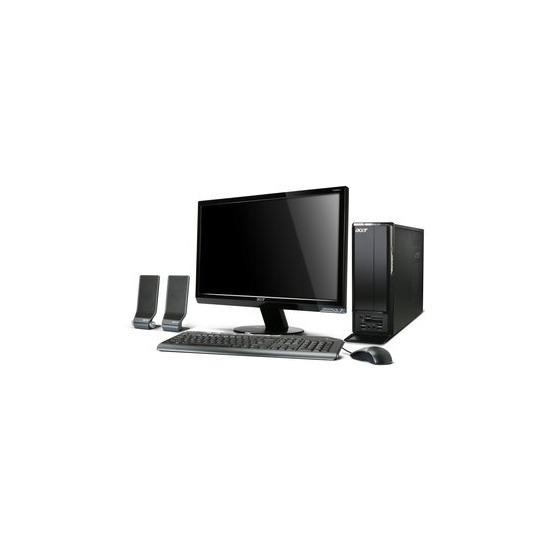 Acer Aspire X1301 Dual Core Windows 7 Desktop PC