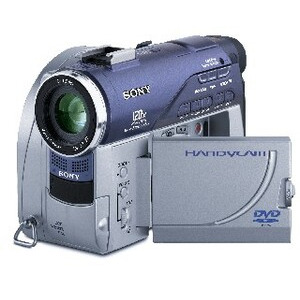 Photo of SONY DCR-DVD100E Camcorder
