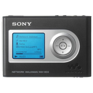 Photo of Sony NW-HD3 MP3 Player