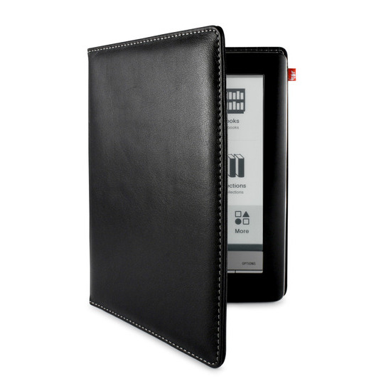 Sony PRS-6 Leather Cover Black