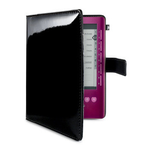 Photo of Sony PRS-3 Leather Cover Black Ereader Accessory