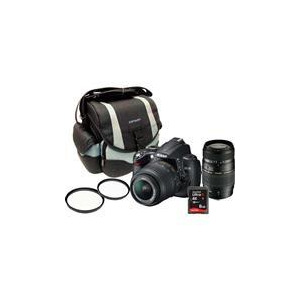 Photo of Nikon D5000 18-55MM and 70-300MM Lenses Digital Camera