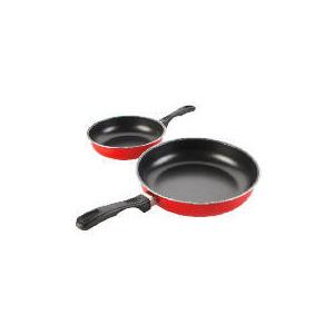 Photo of Swan Frypan Set 20CM/24CM Red Kitchen Utensil