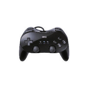 Photo of Wii Black Classic Controller Pro Games Console Accessory