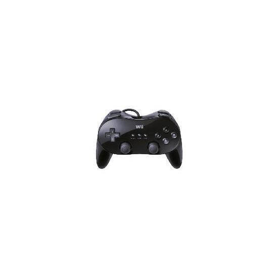 Wii Black Classic Controller Pro