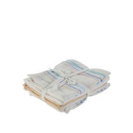 Tesco Tea Towel Waffle Stripe 5 Pack Reviews
