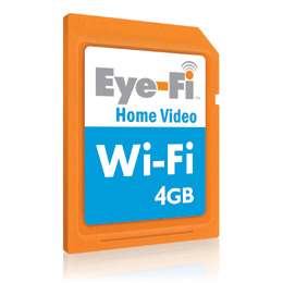 Eye-Fi Home Video 4GB Wireless SDHC card Reviews