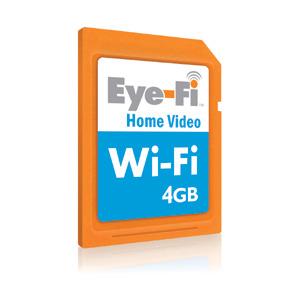 Photo of EYE-Fi Home Video 4GB Wireless SDHC Card Memory Card