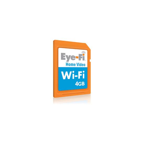 Eye-Fi Home Video 4GB Wireless SDHC card