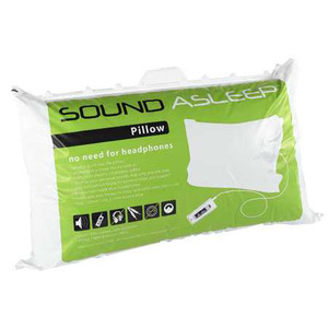 Photo of Sound Asleep Pillow  No More Headphones In Bed Bedding