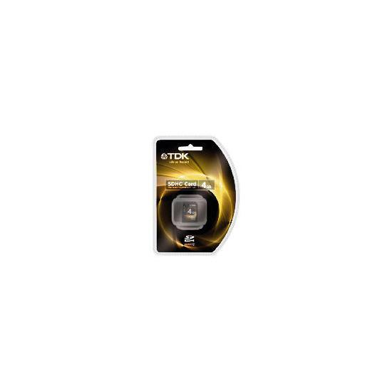 TDK 4GB Flash SD Card