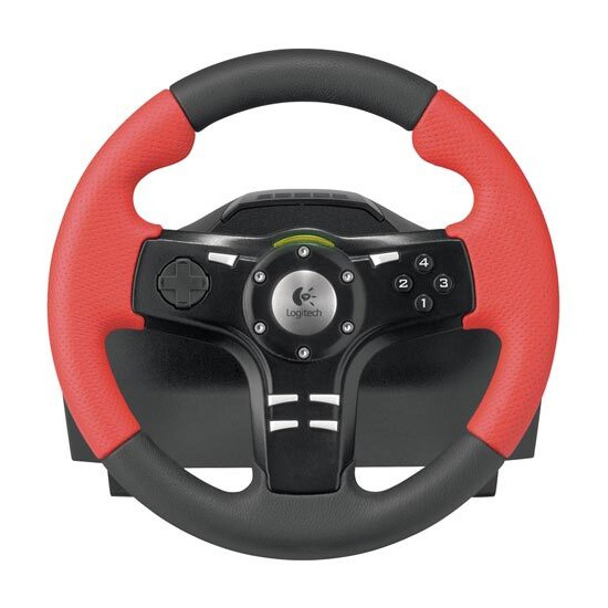 Logitech Formula Force EX PC Steering Wheels & Pedals