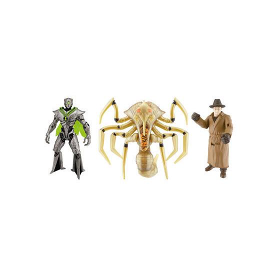 Ben 10 Alien Swarm - Movie 3 Figure Pack