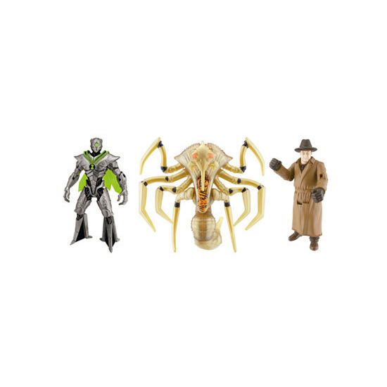 Ben 10 Alien Swarm - Movie 3 Figure Pack