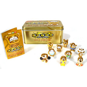 Photo of Gogo's Crazy Bones Gold Series Limited Edition Tin Toy