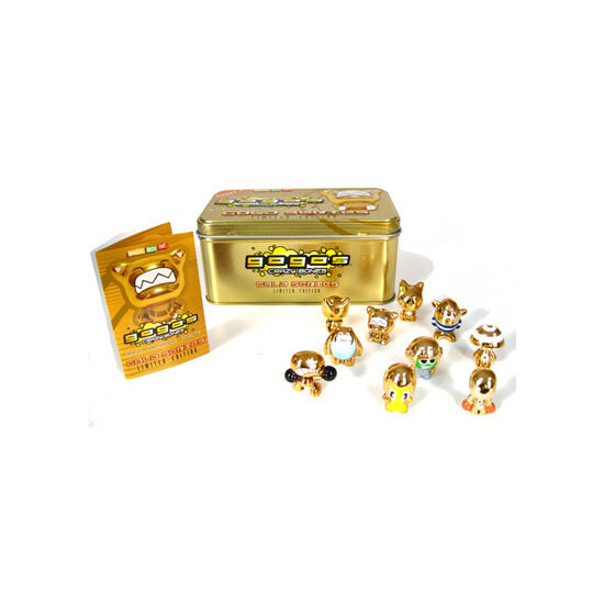 Gogo's Crazy Bones Gold Series Limited Edition Tin